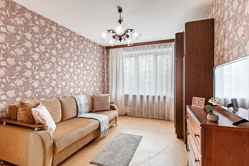 2-комн. квартира, 55 кв.м. на 4 человека, Ореховый бульвар, 14к1, Москва - Фотография 8