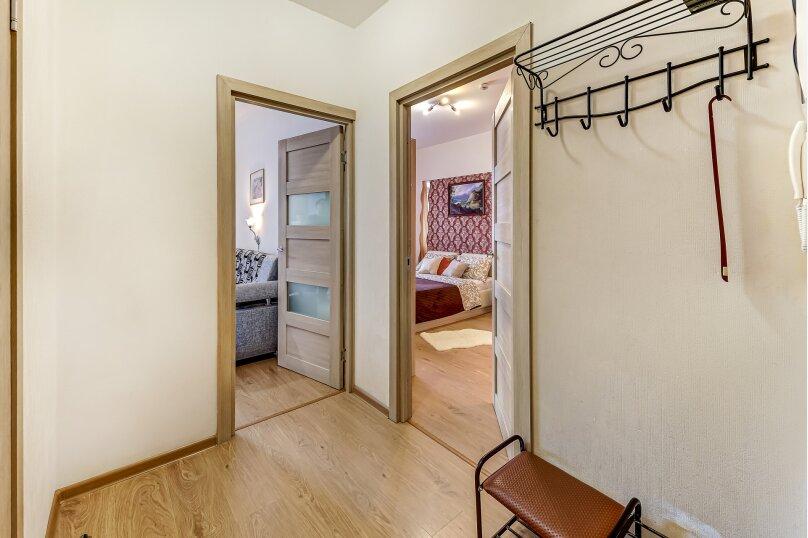1-комн. квартира, 35 кв.м. на 4 человека, улица Адмирала Черокова, 22, Санкт-Петербург - Фотография 2