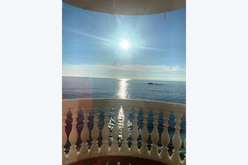 Двухместный номер с балконом видом на море, Гагариной, 25/157, Утес - Фотография 7
