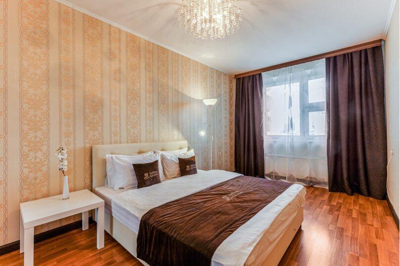 2-комн. квартира, 53 кв.м. на 4 человека, улица Адмирала Лазарева, 19, Москва - Фотография 1