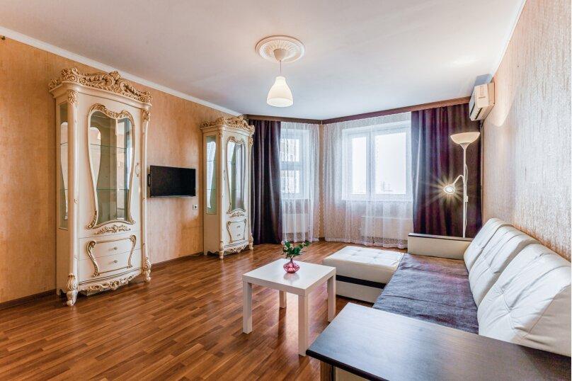 2-комн. квартира, 53 кв.м. на 4 человека, улица Адмирала Лазарева, 19, Москва - Фотография 4