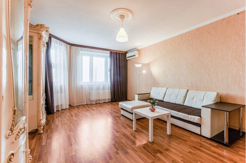 2-комн. квартира, 53 кв.м. на 4 человека, улица Адмирала Лазарева, 19, Москва - Фотография 5