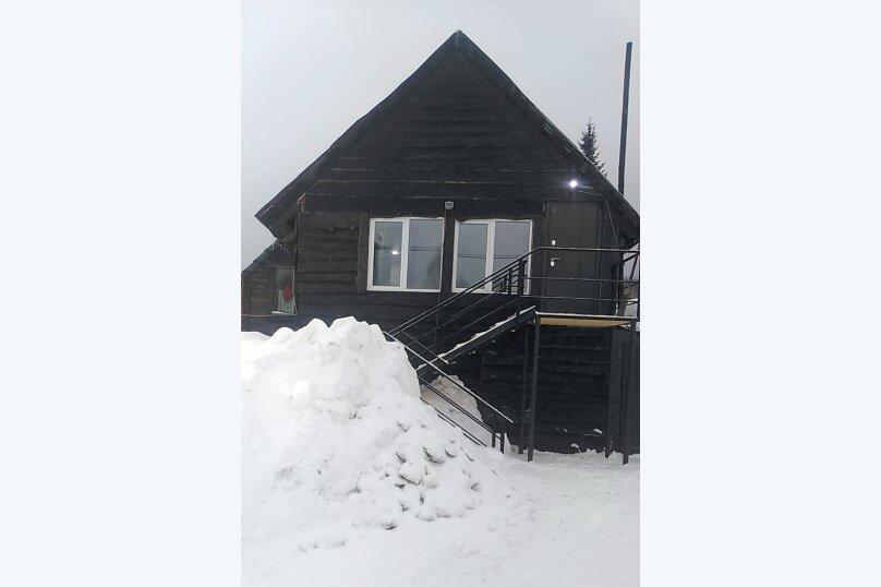 """Гостевой дом """"Зимовье"""" второй этаж, 30 кв.м. на 4 человека, 1 спальня, Третья дачная, 745, Шерегеш - Фотография 1"""
