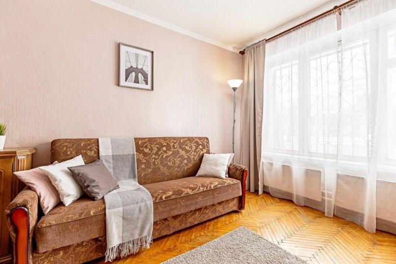 2-комн. квартира, 58 кв.м. на 4 человека, 3-я Владимирская улица, 26к1, Москва - Фотография 3