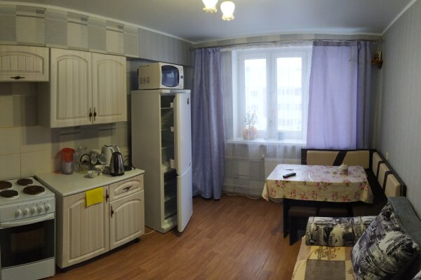 1-комн. квартира, 42 кв.м. на 4 человека, Объездная улица, 39, Анапа - Фотография 1