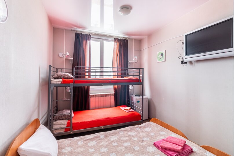 """Гостиница """"Улей"""", улица Бабарынка, 1к2 на 2 комнаты - Фотография 50"""