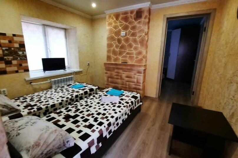 Номер люкс двухкомнатный 4-х местный, Заводская улица, 44, Анапа - Фотография 5