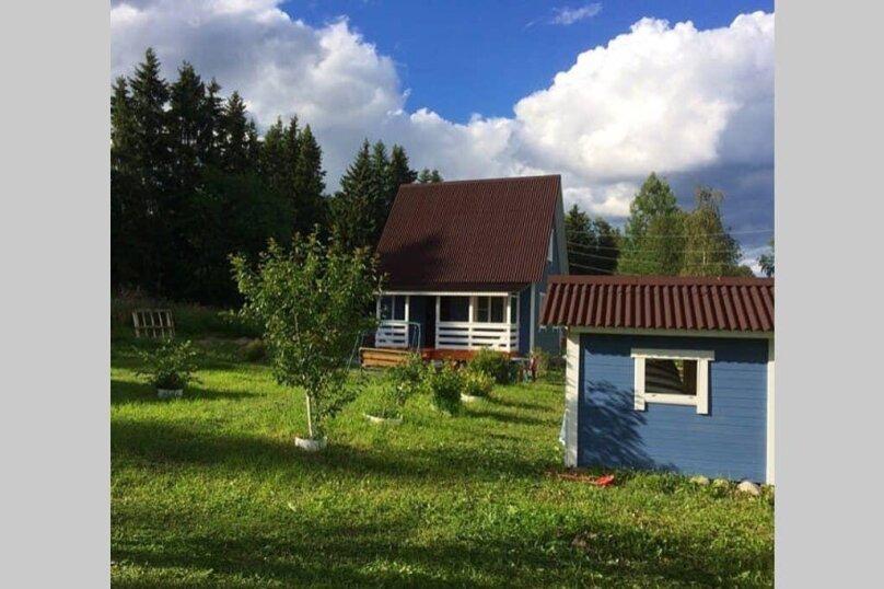 Дом, 60 кв.м. на 6 человек, 2 спальни, поселок Куркиеки, б/н, Лахденпохья - Фотография 1