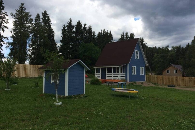 Дом, 60 кв.м. на 6 человек, 2 спальни, поселок Куркиеки, б/н, Лахденпохья - Фотография 12