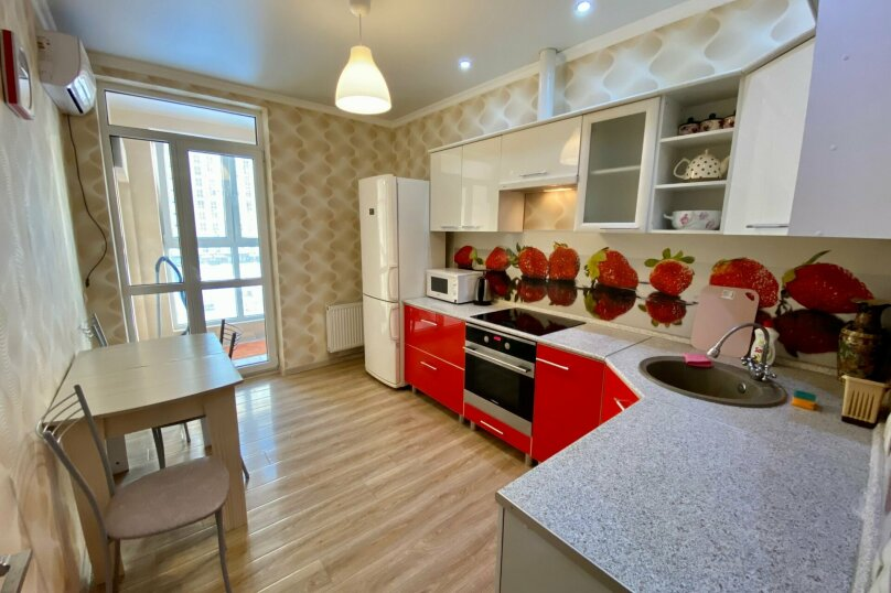 1-комн. квартира, 45 кв.м. на 4 человека, Красная улица, 176лит1, Краснодар - Фотография 12