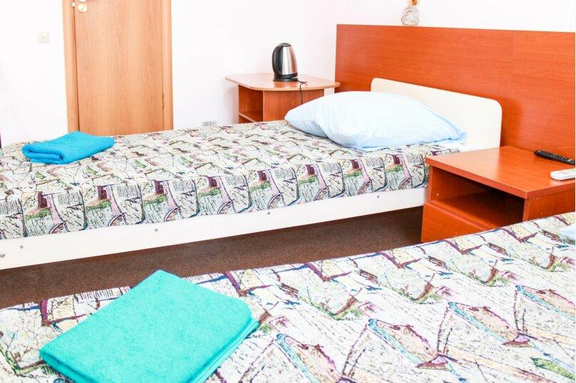 Двухместный номер с двумя отдельными кроватями , улица Маяковского, 51, Сургут - Фотография 1