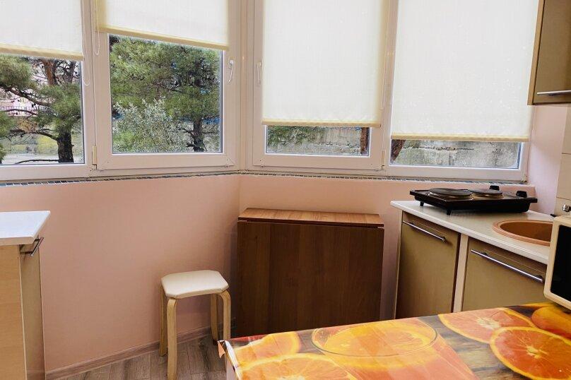 2-комн. квартира, 36 кв.м. на 4 человека, Нагорная улица, 14, Партенит - Фотография 11