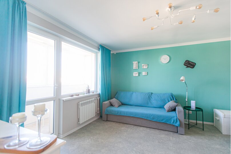 2-комн. квартира, 42 кв.м. на 6 человек, улица Генерала Павлова, 22, Калининград - Фотография 5