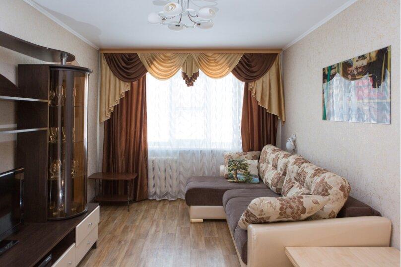 3-комн. квартира, 60 кв.м. на 8 человек, Набережная улица, 1, Орехово-Зуево - Фотография 1