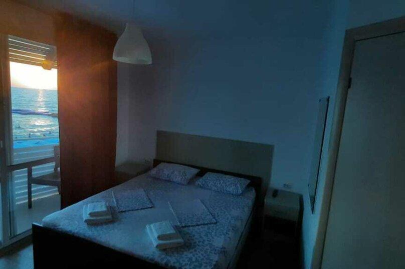 Двухместный номер с 1 кроватью, балконом и видом на море, Аллейная улица, 11А, Адлер - Фотография 12