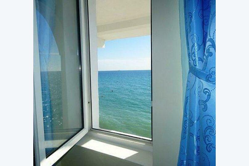 4-х местный номер с балконом и видом на море, Азовская улица, 4, Лоо - Фотография 5