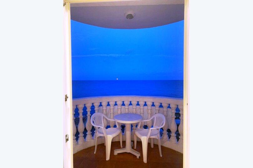 Двухкомнатный номер с балконом и видом на море, Гагариной, 25/157, Утес - Фотография 1