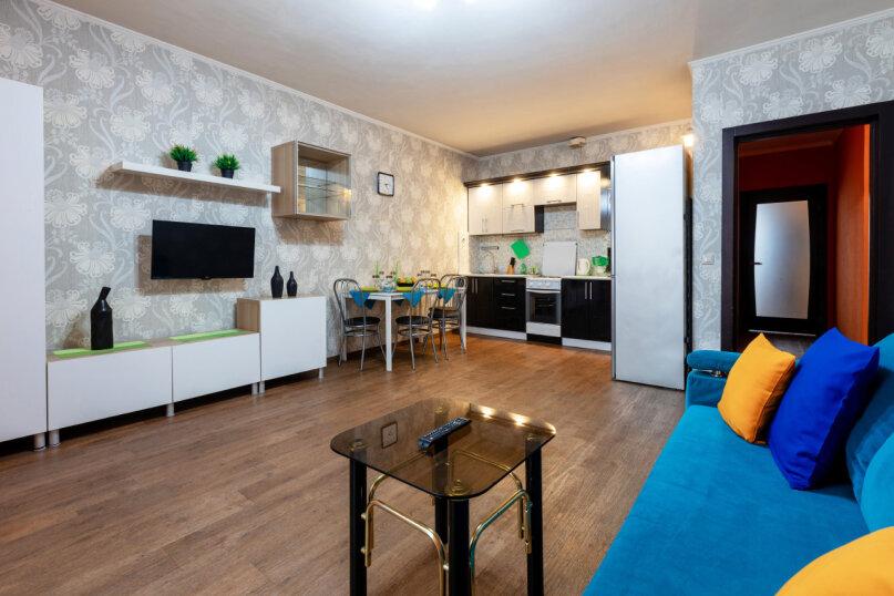 3-комн. квартира, 90 кв.м. на 8 человек, улица Авиаторов, 68, Красноярск - Фотография 5