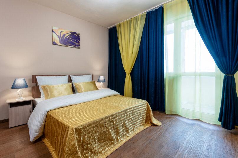 3-комн. квартира, 90 кв.м. на 8 человек, улица Авиаторов, 68, Красноярск - Фотография 11