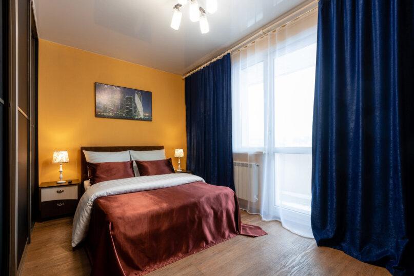 3-комн. квартира, 90 кв.м. на 8 человек, улица Авиаторов, 68, Красноярск - Фотография 17