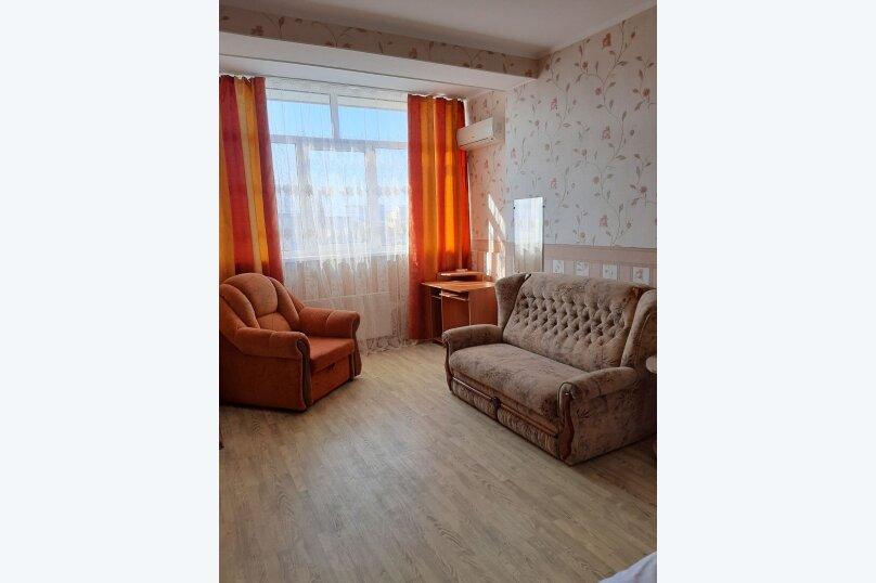 1-комн. квартира, 50 кв.м. на 3 человека, улица Адмирала Фадеева, 21Д, Севастополь - Фотография 5
