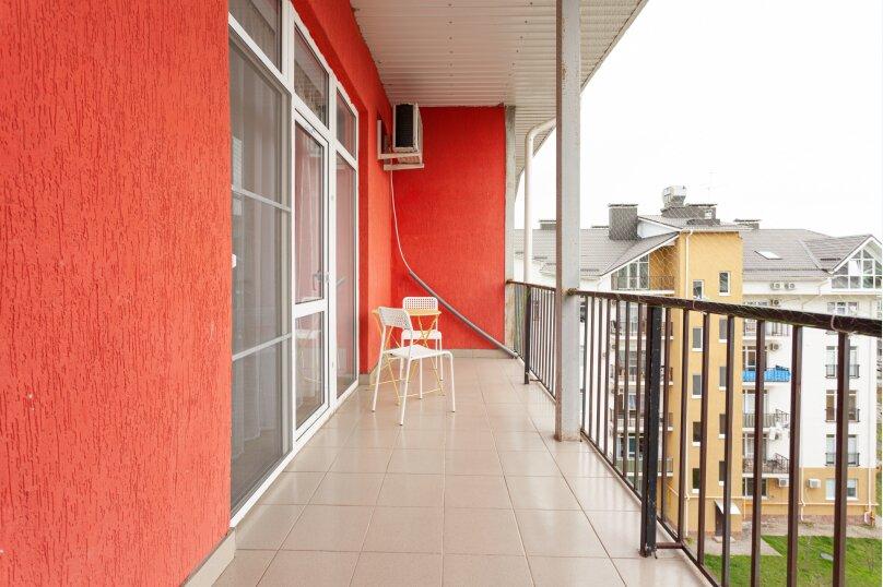1-комн. квартира, 40 кв.м. на 3 человека, проспект Гёте, 7, Краснодар - Фотография 13