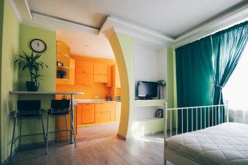 1-комн. квартира, 35 кв.м. на 3 человека, Баварская улица, 8, Краснодар - Фотография 1