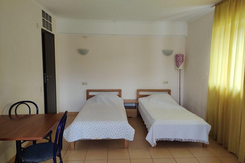 Двухместный стандартный номер с раздельными кроватями (№2,6), Изобильненская улица, 10, село Изобильное - Фотография 1
