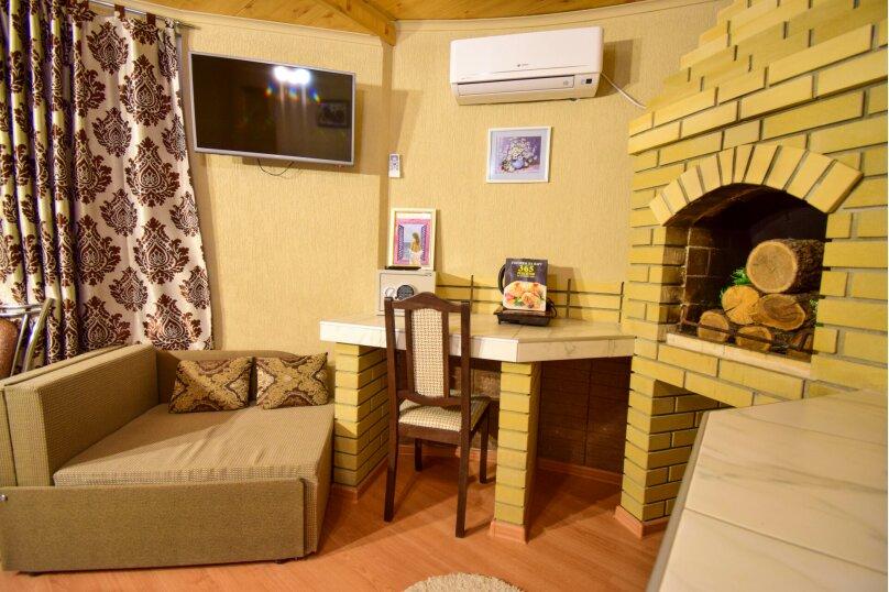 Двухместный номер с камином, улица Мокроуса, 5, Феодосия - Фотография 5