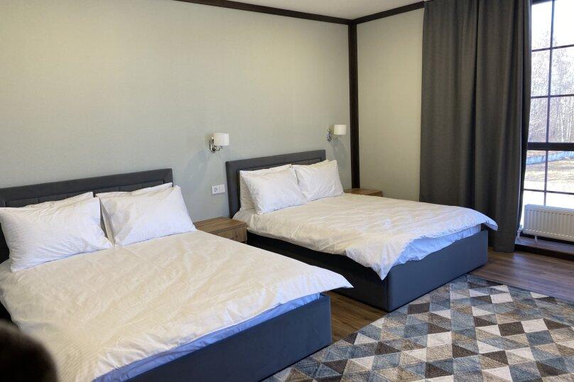 Двухместный двухкомнатный номер с двумя кроватями, Окружная дорога, 14-й километр, 6, Тюмень - Фотография 1