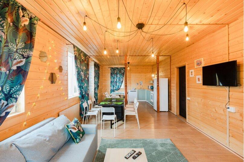 Уютный коттедж в Лесколово с тёплым бассейном и баней, 170 кв.м. на 16 человек, 4 спальни, Подгорная линия, 2959, Санкт-Петербург - Фотография 7