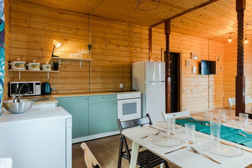Уютный коттедж в Лесколово с тёплым бассейном и баней, 170 кв.м. на 16 человек, 4 спальни, Подгорная линия, 2959, Санкт-Петербург - Фотография 8