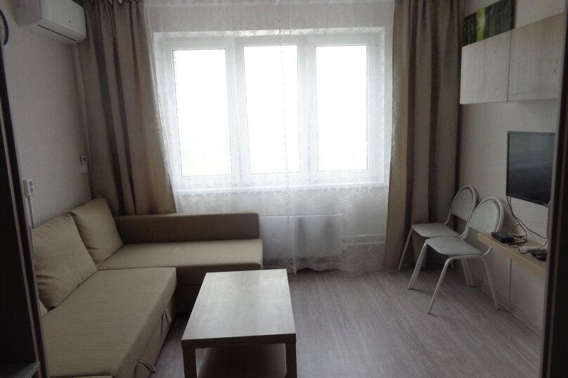 2-комн. квартира, 40 кв.м. на 4 человека, улица Мурата Ахеджака, 21к1, Новороссийск - Фотография 3