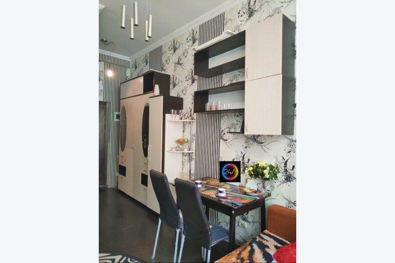 1-комн. квартира, 25 кв.м. на 3 человека, улица Кириченко, 7, Туапсе - Фотография 1