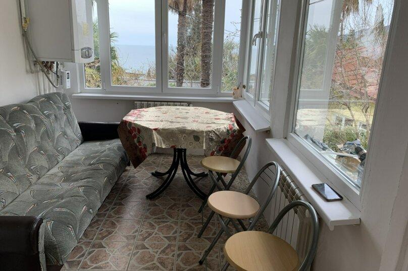 Частный дом в Крыму, Гурзуф 1-я половинка, 50 кв.м. на 4 человека, 2 спальни, Пролетарская, 19, Гурзуф - Фотография 18