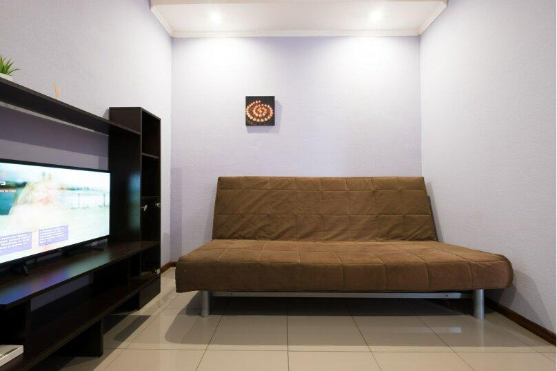 2-комн. квартира, 44 кв.м. на 5 человек, улица Гидростроителей, 59, Краснодар - Фотография 8