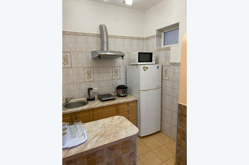 Лавровый дворик, 28 кв.м. на 3 человека, 1 спальня, Пролетарская улица, 7, Гурзуф - Фотография 16