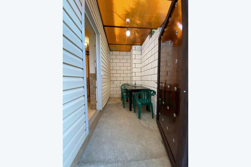 Лавровый дворик, 28 кв.м. на 3 человека, 1 спальня, Пролетарская улица, 7, Гурзуф - Фотография 23