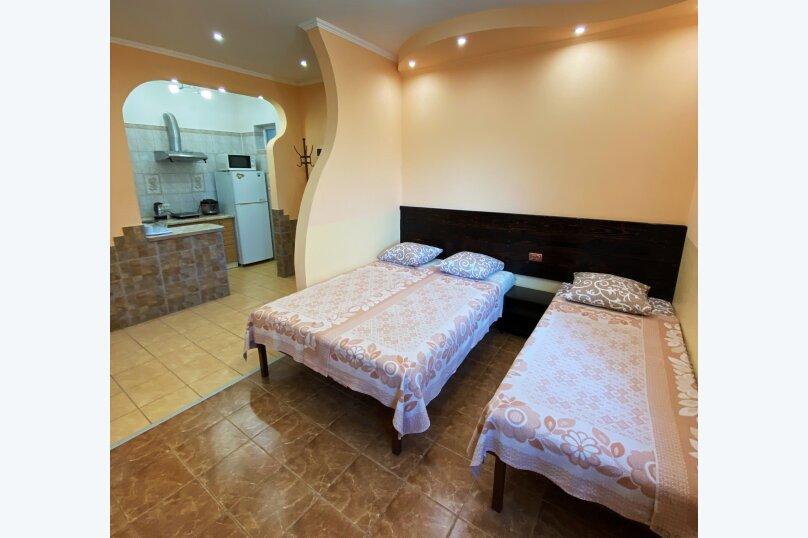 Лавровый дворик, 28 кв.м. на 3 человека, 1 спальня, Пролетарская улица, 7, Гурзуф - Фотография 1
