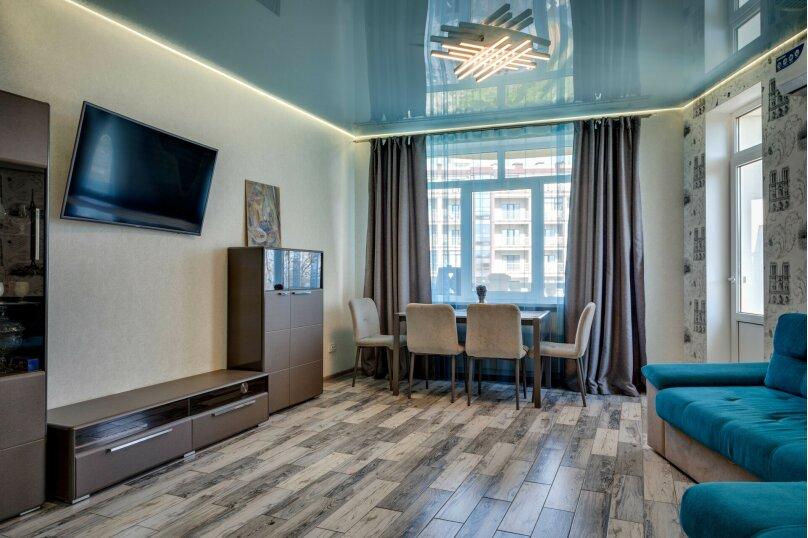 3-комн. квартира, 80 кв.м. на 4 человека, Морской спуск, 9, Ялта - Фотография 2