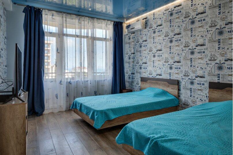3-комн. квартира, 80 кв.м. на 4 человека, Морской спуск, 9, Ялта - Фотография 24