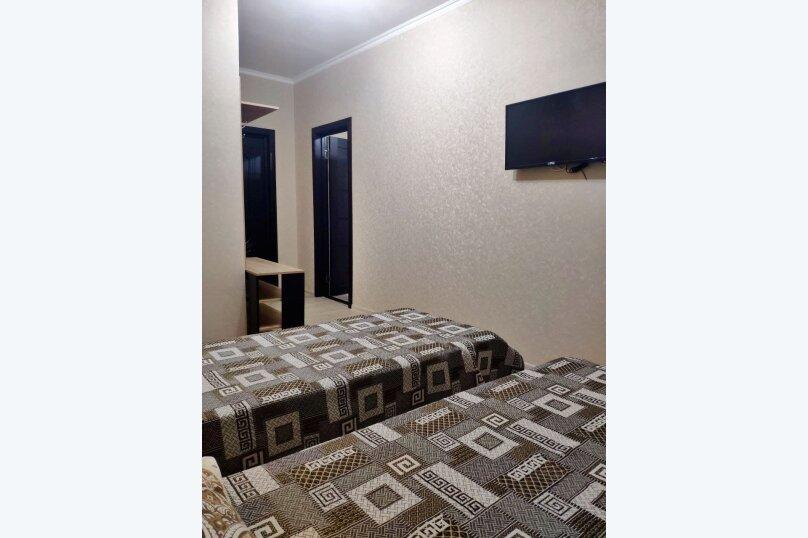 Номер Полулюкс с 2 раздельными кроватями. Душ, с/у в номере, Озёрная улица, 27, Геленджик - Фотография 2