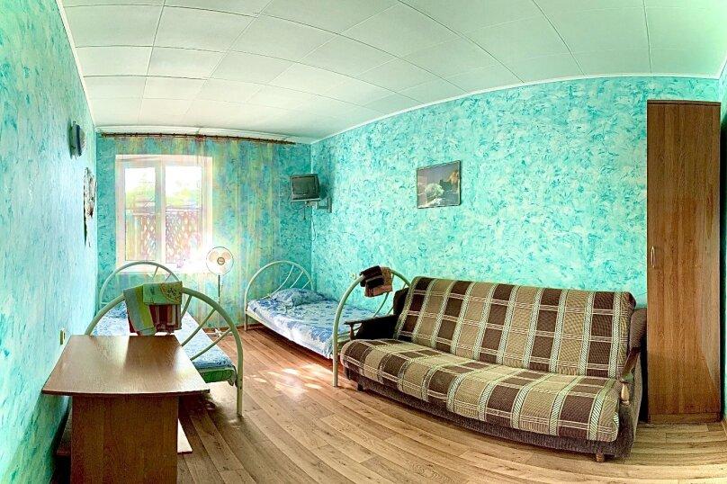 4-х местный номер с беседкой-террасой / 1-й этаж / комната 2, Северная улица, 9А, Дивноморское - Фотография 1