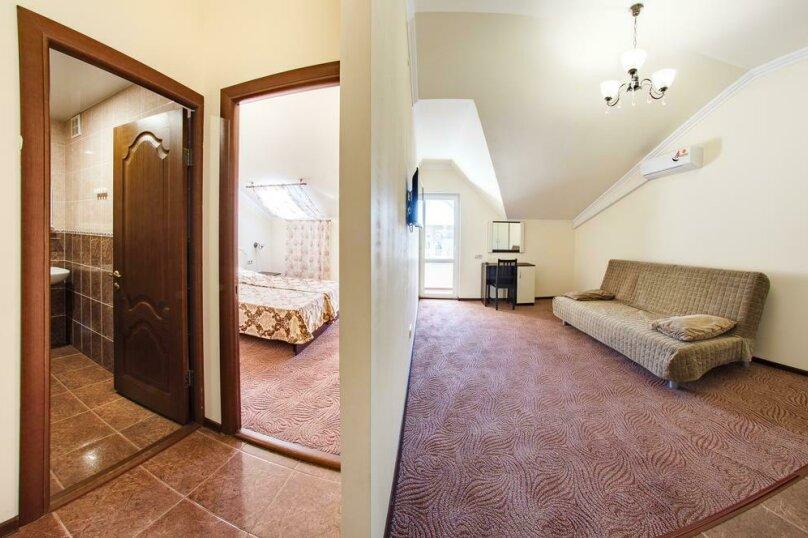 Двухкомнатный семейный номер без балкона, улица Шевченко, 63, Анапа - Фотография 4