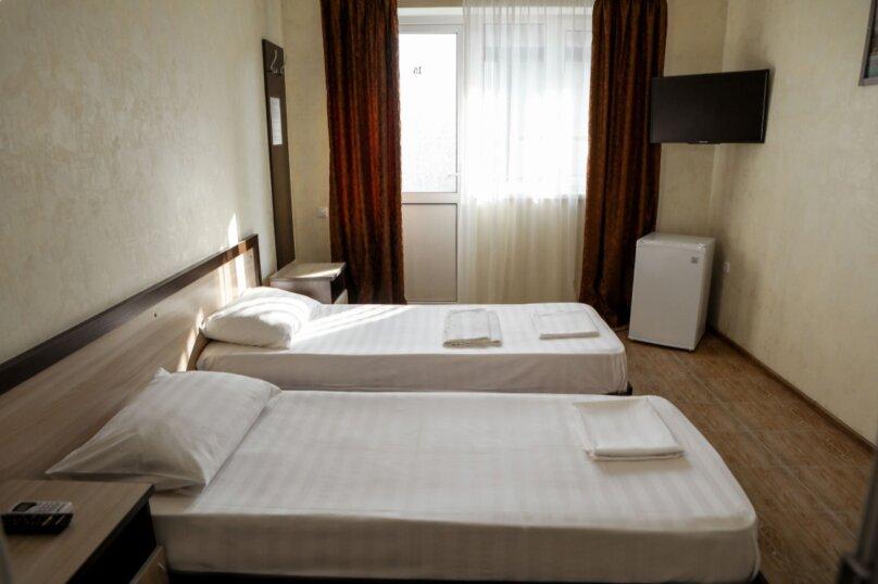 Стандарт  двухместный с двумя односпальными кроватями, Объездная улица, 33, Витязево - Фотография 1