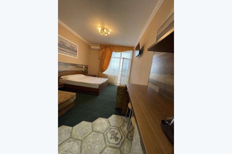 1-комнатный 4-местный улучшенный с балконом, Прибрежная, 45, Николаевка, Крым - Фотография 2