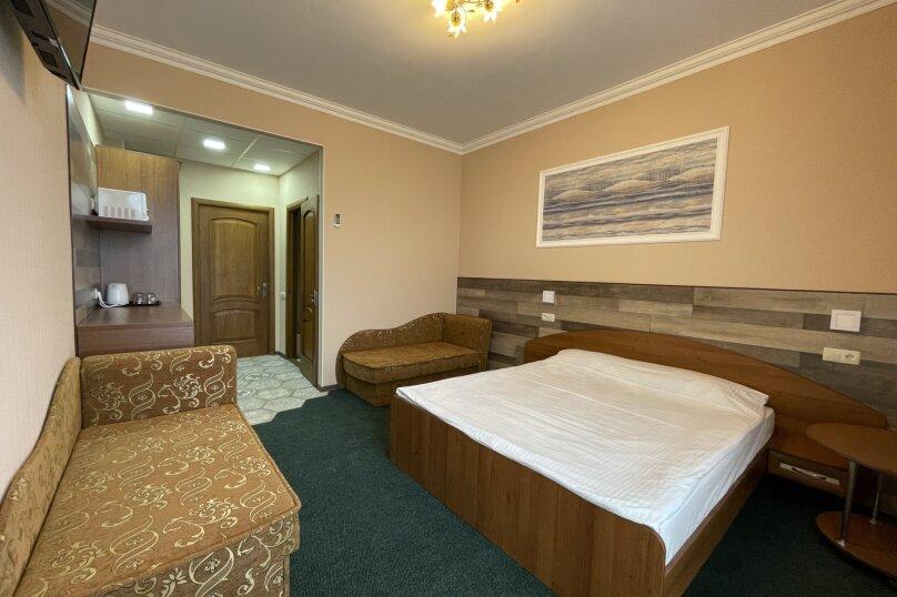 1-комнатный 4-местный улучшенный с балконом, Прибрежная, 45, Николаевка, Крым - Фотография 3