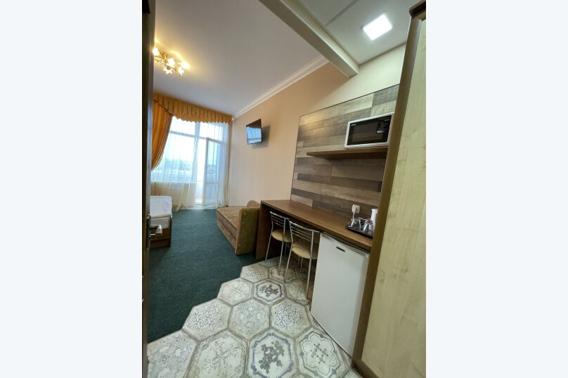 1-комнатный 4-местный улучшенный с балконом, Прибрежная, 45, Николаевка, Крым - Фотография 4