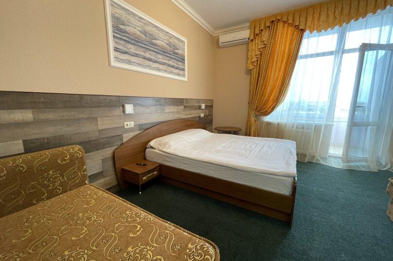 1-комнатный 4-местный улучшенный с балконом, Прибрежная, 45, Николаевка, Крым - Фотография 8