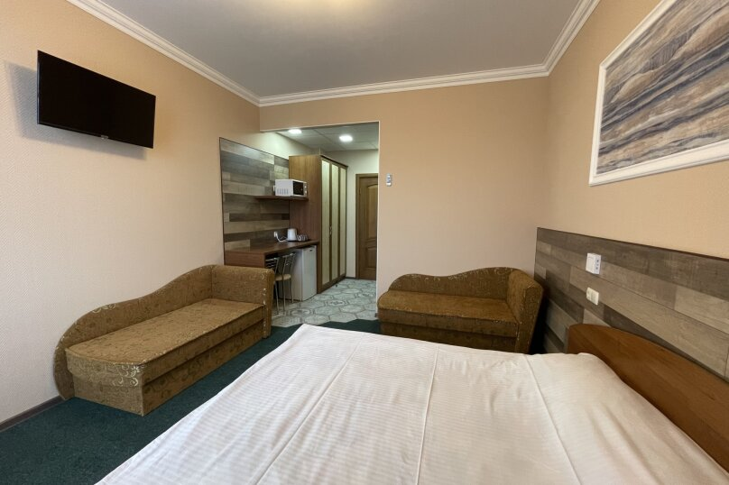 1-комнатный 4-местный улучшенный с балконом, Прибрежная, 45, Николаевка, Крым - Фотография 9
